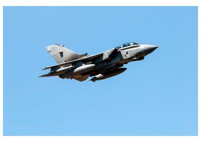 Panavia Tornado GR4 final flypast RIAT