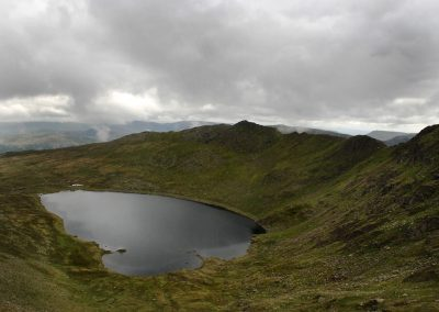 Striding Edge from Squirrel Track