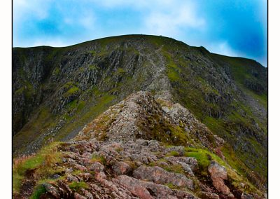 striding edge end view