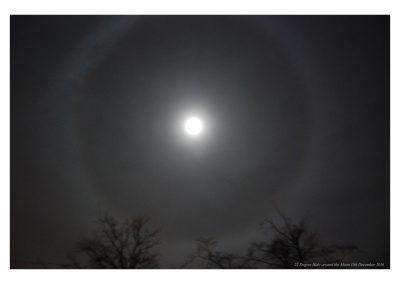 22 Degree Moon halo