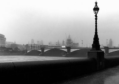 Blackfriars in the rain