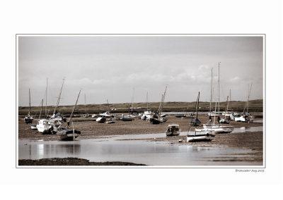 Boats at Brancaster