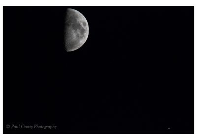 Moon and Saturn 17 Sept 18