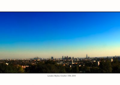 Skyline from Hampstead