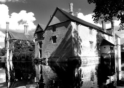 Baddesley Side View BW