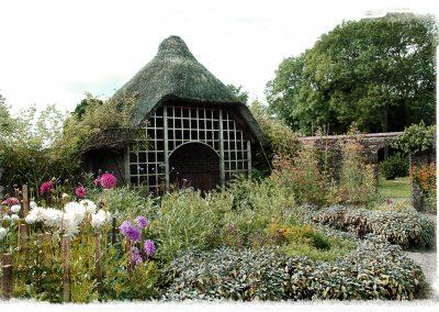 Baddesley Walled garden