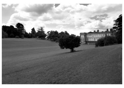 Calke Abbey Side View II_