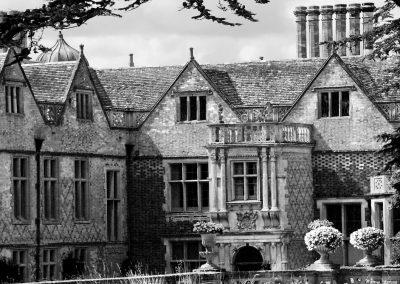 Charlecote Main House BW