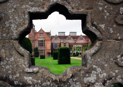 Charlecote Through the wall