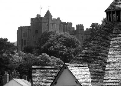Dunster Castle from Dunster