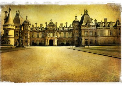 Waddesdon Manor with Texture