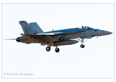 Lakenheath F-18 303 Final Approach- (1 of 1)